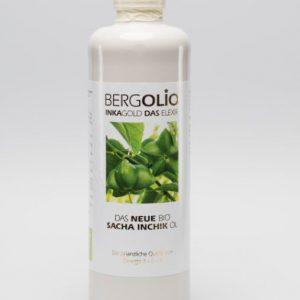 BERGOLIO Bio Sacha Inchik-Öl, 350ml, Keramikflasche