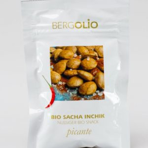 BERGOLIO Bio Sacha Inchik-Nüsse Picante, 16 take away-Tüten à 30g