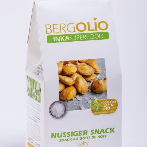 BERGOLIO Sacha Inchik Snack salty, 13 take away-Tüten à 100g