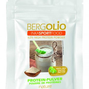 BERGOLIO Bio-Sacha Inchik-Proteinpulver, Pack à 500 g