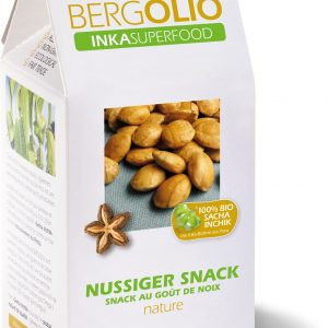 BERGOLIO Bio Sacha Inchik-Nüsse Nature, take away-Tüte 300g