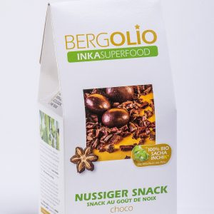 BERGOLIO Sacha Inchik Snack choco, 13 take away-Tüten à 100g