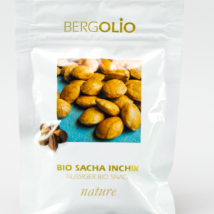 BERGOLIO Bio Sacha Inchik-Nüsse nature, 16 take away-Tüten à 30g