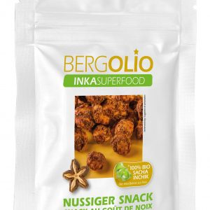 BERGOLIO Sacha Inchik Snack caramel, take away-Tüte 30g