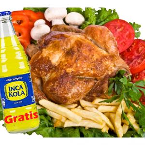 Pollo a la Brasa – 1x Poulet
